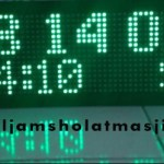 jam digital sholat masjid di cibarusah
