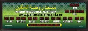 jual jam digital untuk masjid di depok utara