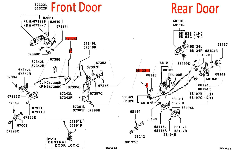 Door Knob Diagram Door Knobs