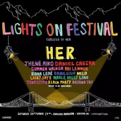 2019 lights on festival lineup