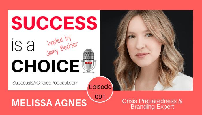 Episode 091: Crisis Preparedness Expert Melissa Agnes