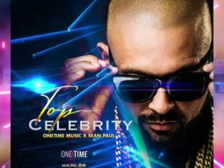 One Time Music, Sean Paul Top Celebrity MP3 DOWNLOAD