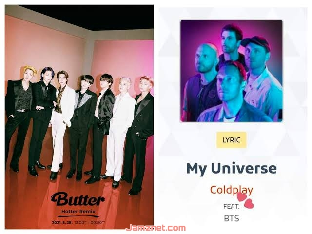 Coldplay & BTS My Universe MP3 DOWNLOAD