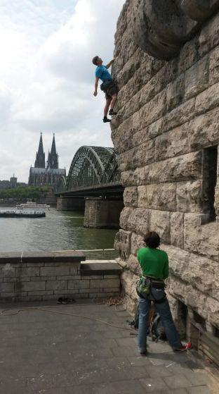 Feierabendklettern in Köln