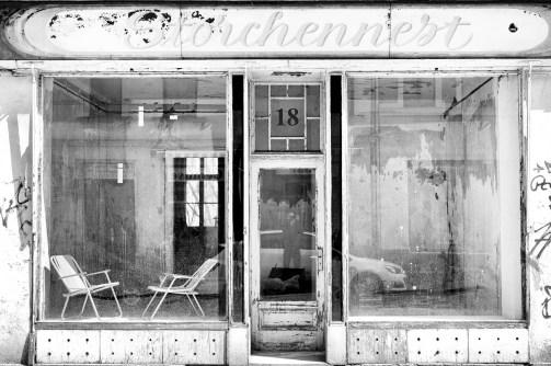 """Closed shop """"Storchennest"""" in Leipzig-Leutzsch"""