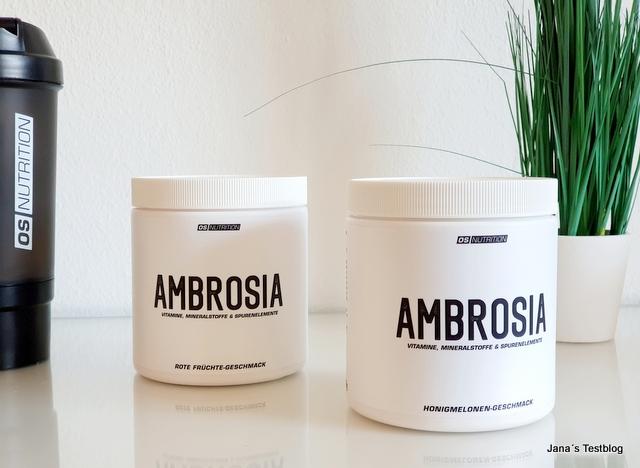AMBROSIA von OS NUTRITION – Gesund und fit ins neue Jahr