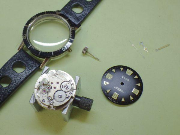 ギャルコ GALCO ダイバーズウォッチ 5気圧防水