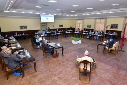 प्रधानमन्त्री ओलीको उपस्थितिमा सीसीएमसीको बैठक शुरु
