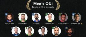 धोनीको कप्तानीमा आईसीसीको ओडिआई टिम अफ दी डिकेड, कुन कुन खेलाडी परे?