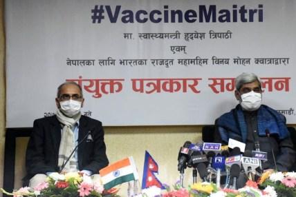 भारतको सरप्राइज अनुदान : यसरी हुन्छ १० लाख कोरोना खोप वितरण