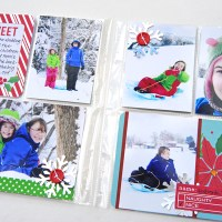 Giveaway & Christmas 6x8 Album