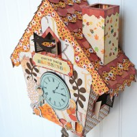 Carta Bella Paper: Autumn Cuckoo Clock