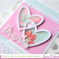 Queen & Co.: Heart Throb Card