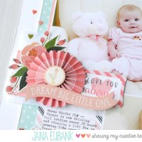 Carta Bella Paper: Dream Big Baby Girl Layout