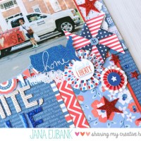 Stashbusting: Patriotic Pages