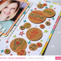 Bella Blvd: Creating Stamped Cork Embellishments