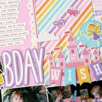 Echo Park Paper: Birthday Wish Layout