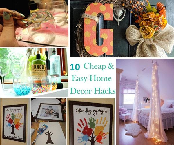 10 Cheap And Easy Home Decor Hacks Are Borderline Genius