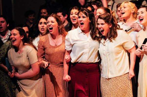Jana in Chorus of Bizet's Carmen