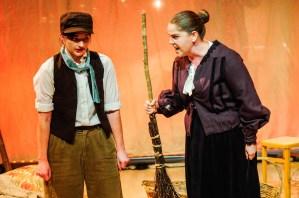 Jana as Gertrude in Humperdinck's Hansel and Gretel