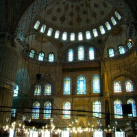 The Blue Mosque isn't Blue?