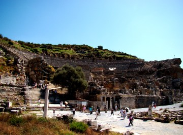 The largest outdoor theater of the Ancient World