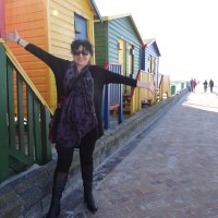 The Colourful Beach houses of Muizenberg