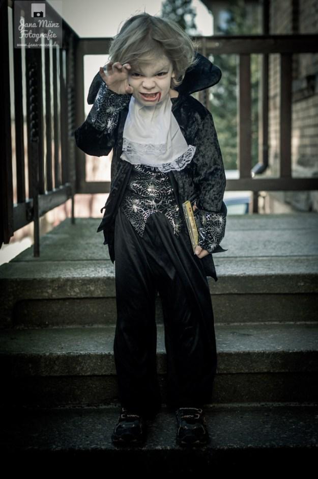 Gustav, Halloween, Vampir, Kostüm