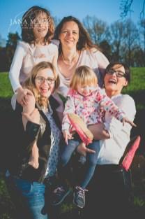 Natürliche Familienfotografie, Familienportraits