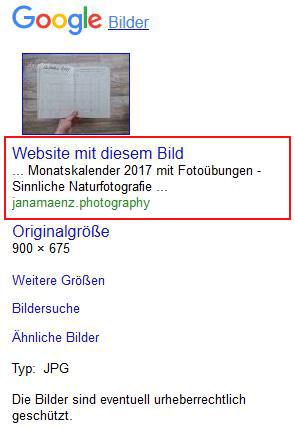google-bildersuche-verlassen