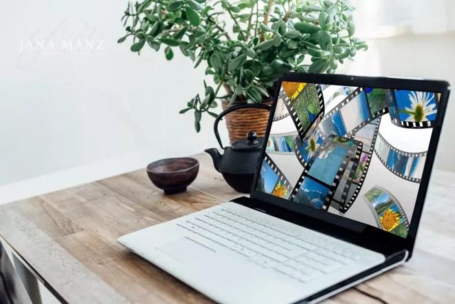 Arbeitszimmer, Laptop, PC