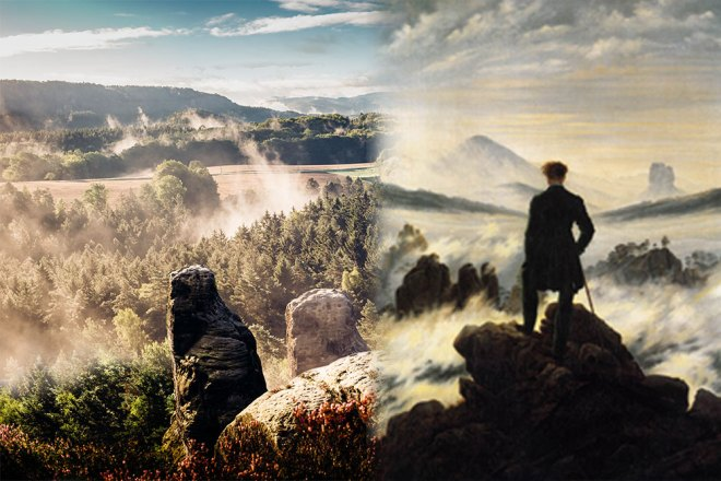 Landschaftsfotografie, Naturfotografie im Elbsandsteingebirge, Nationalpark Sächsische Schweiz
