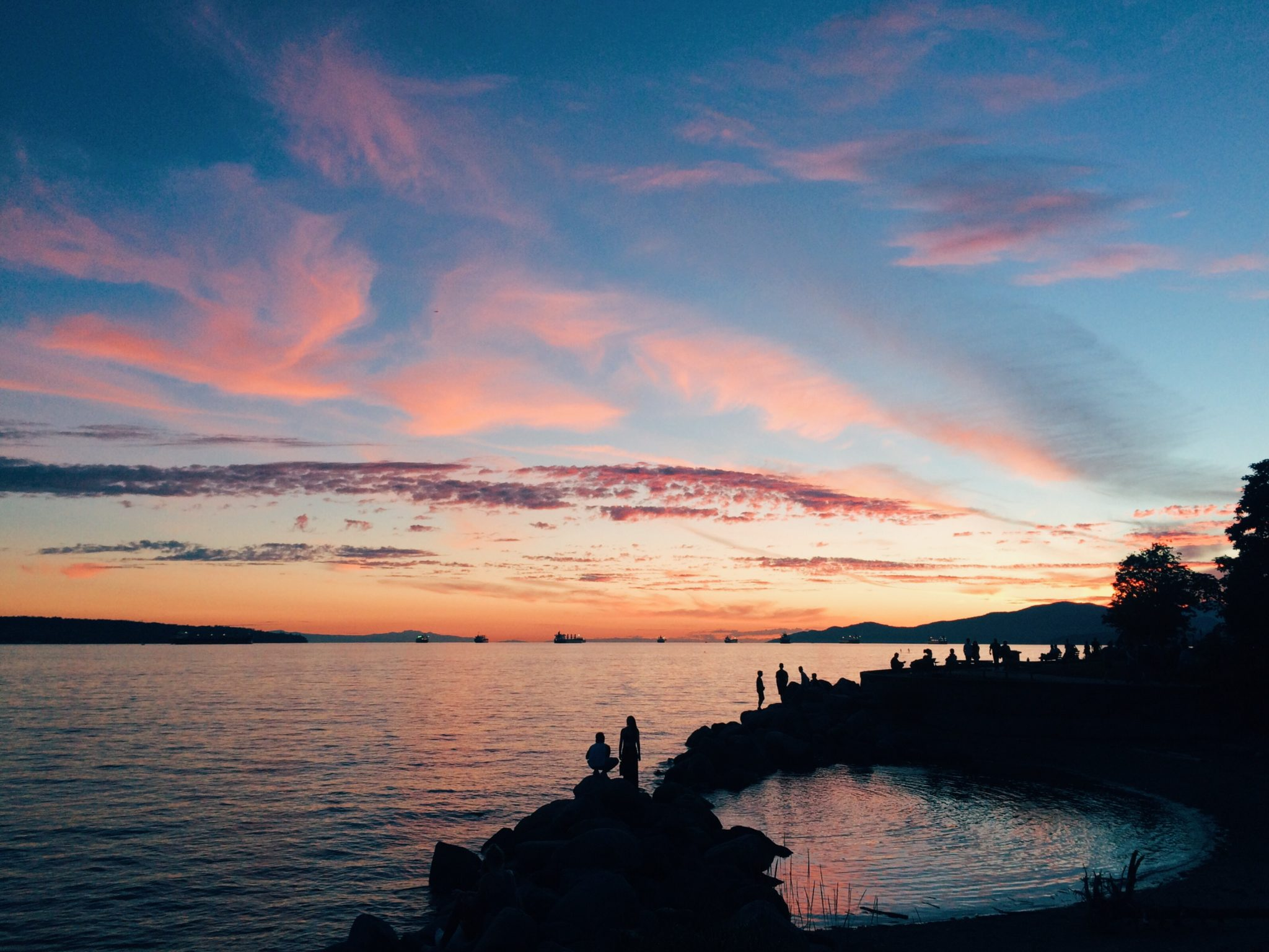 jana meerman english bay sunset