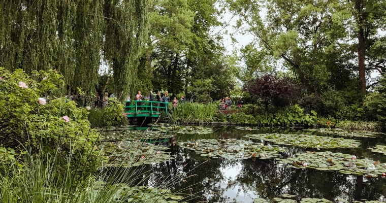 Visiting Claude Monet's Garden in Giverny