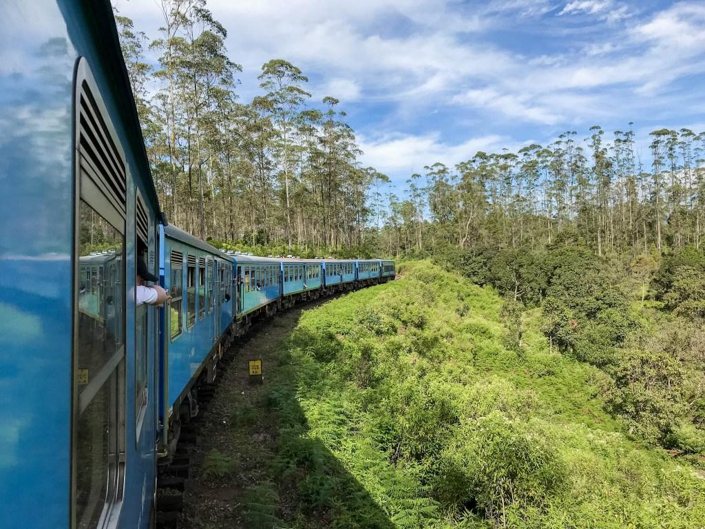 Ella to Kandy, the World's Most Beautiful Train