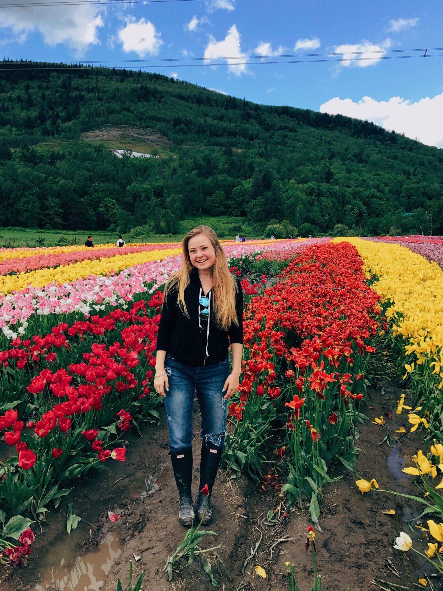 jana meerman abbotsford tulip festival