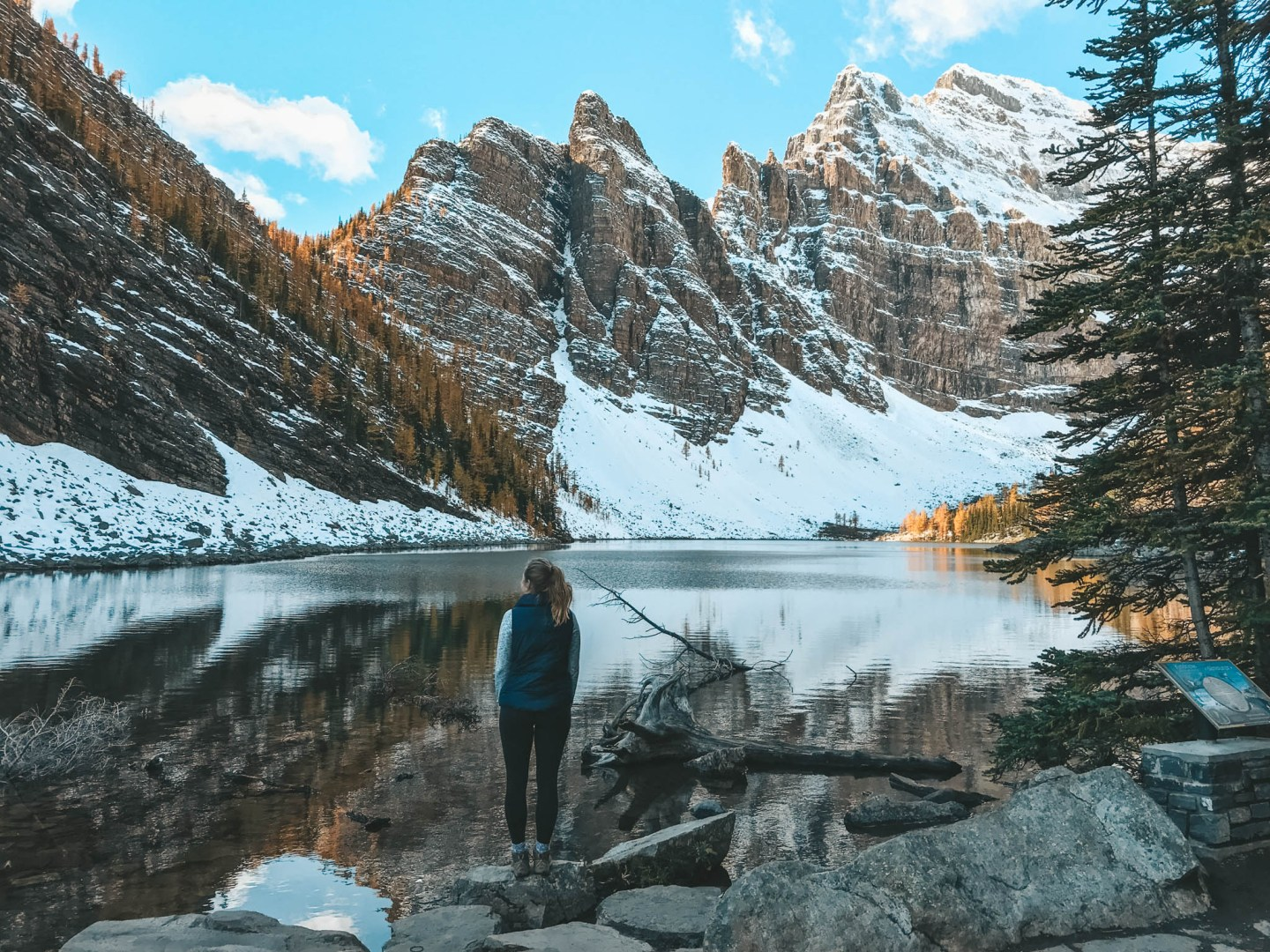 Little Beehive & Lake Agnes Hike