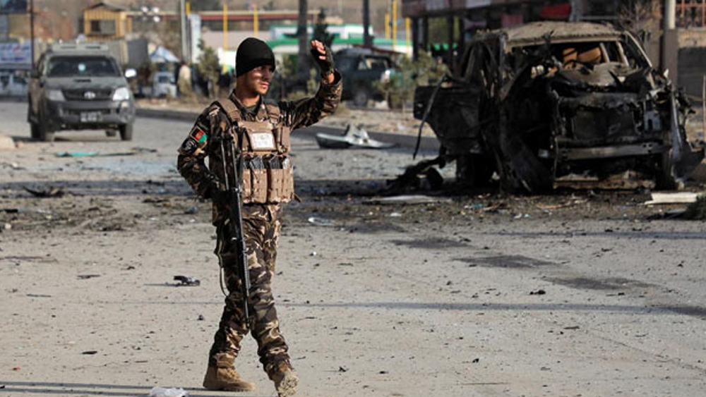 Security forces in the wake of the Taliban hunt in Afghanistan;  20 terrorists killed