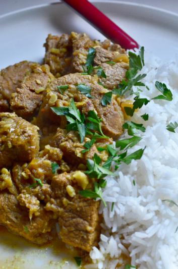 Devil's Pork Curry (1/2)