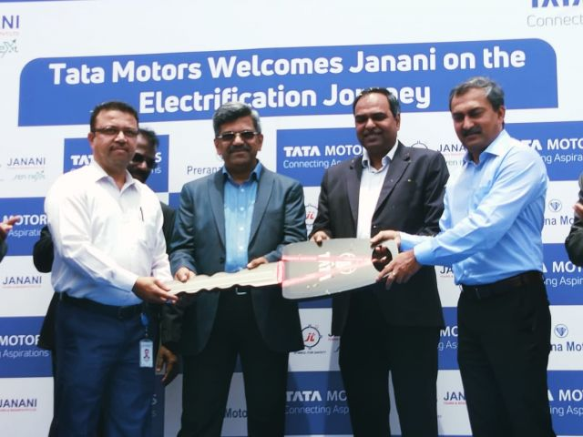 Tata Motors partners with Janani Tours
