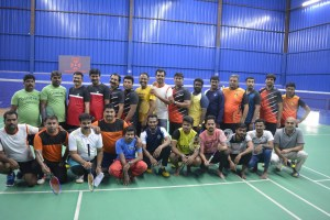 Janani Badminton matches