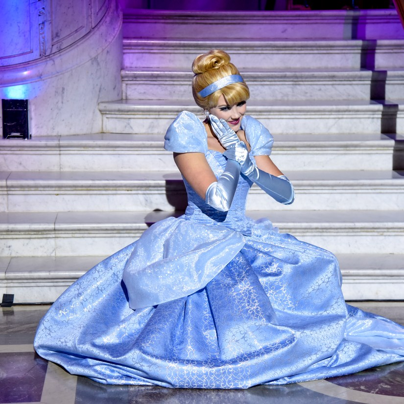 "WASHINGTON, DC - JUNE 20: Cinderella arrives at Disney's ""Cinderella"" Library Of Congress National Film Registry Ball In Celebration Of In-Home Release at The Library of Congress on June 20, 2019 in Washington, DC. (Photo by Kris Connor/Getty Images for Disney)"
