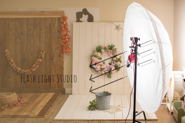 studio flashlight safe for newborn