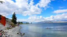 Mongolia-altai-peaks-lake-Khoton-swim-thegeneralist