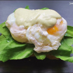Kochbuchmittwoch: Pochierte Eier auf Salat