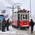 Happy New Year from snowy Istanbul