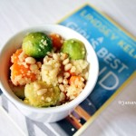 Recipe: Couscous with sweet potatoes and brussel sprouts