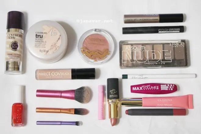 Beauty: My travel makeup essentials