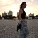 Outfit: South Beach at sunset
