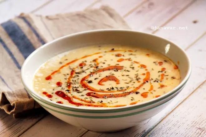 Recipe: Yayla Çorbası (Turkish yogurt soup)